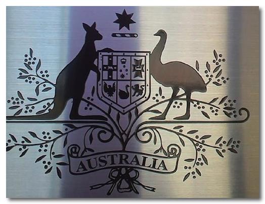 オーストラリア大使館マーク