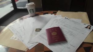 ワーホリビザ申請書類の詳細