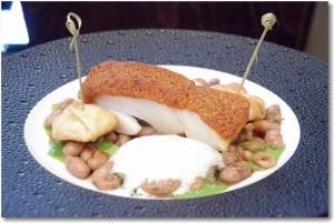 パリの一つ星レストラン Les Fables de La Fontaine お魚料理&厨房見学