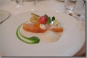 パリの一つ星レストラン stella maris  ~お料理~